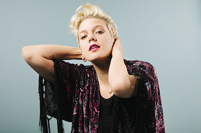 Betty Who photographed at Billboard Studios in New York on March 5, 2014. Joel Barhamand