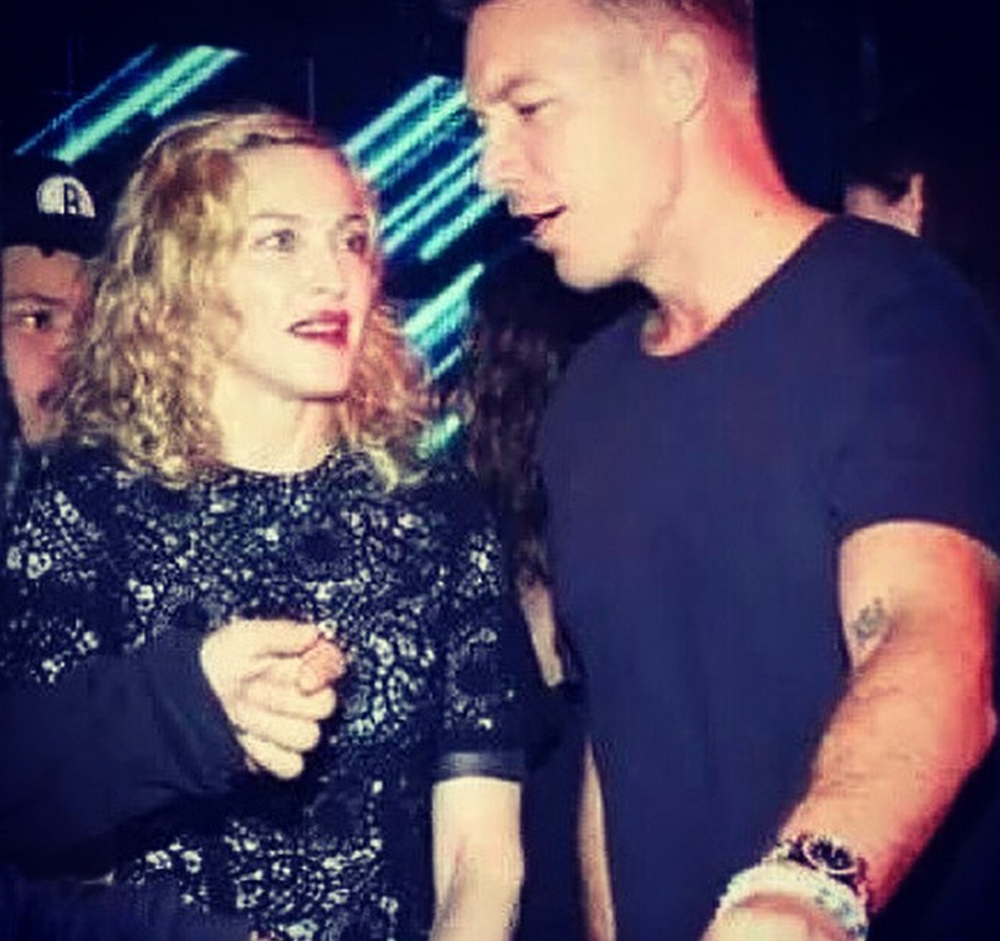 Madge and Diplo from Madonna's Instagram