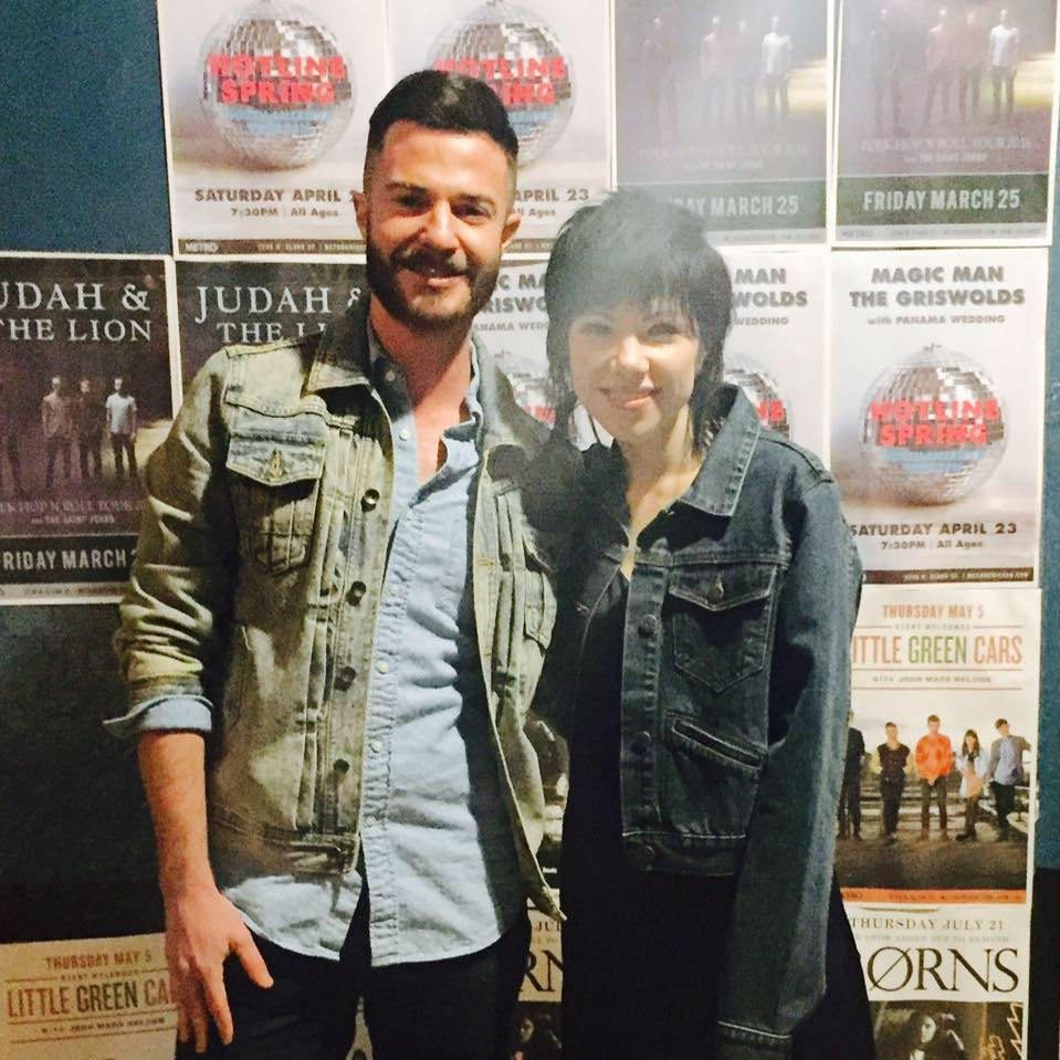 Me & Carly Rae Jepsen in Chicago
