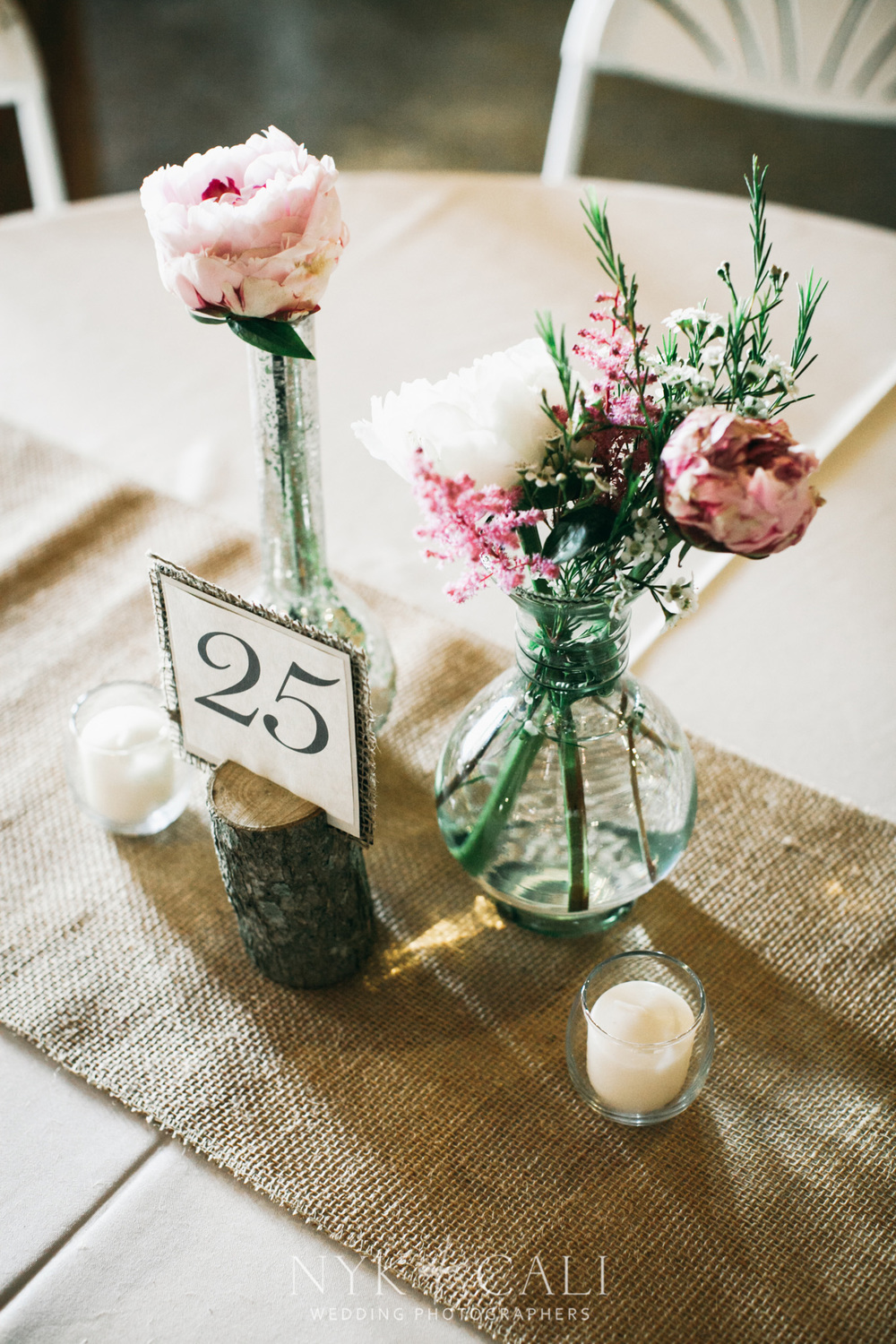 Burlap and Lace Bride - Locklane Weddings & Events, Nashville Wedding Planner