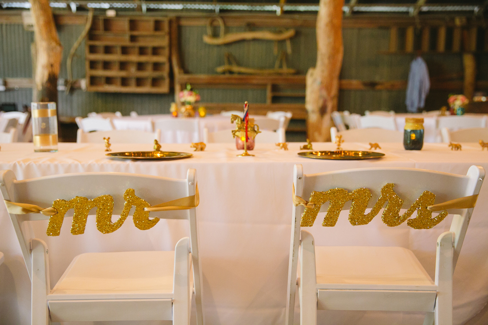 Circus theme barn wedding for a Washington D.C. couple in Dallas, Texas