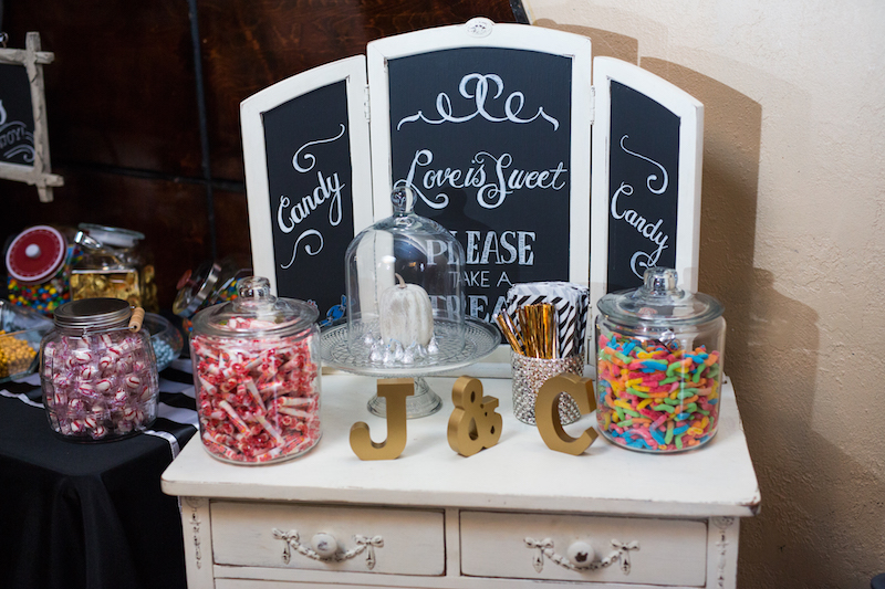 Candy Bar Favors  Downtown Nashville Wedding, Locklane Weddings & Event
