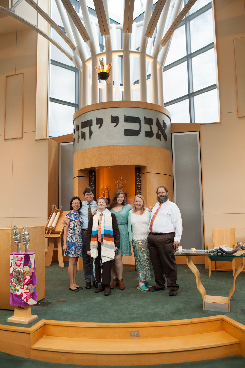 Bar Mitzvah at Congregation Micah, Locklane Event Planner, Jen Bates Photography, Bima