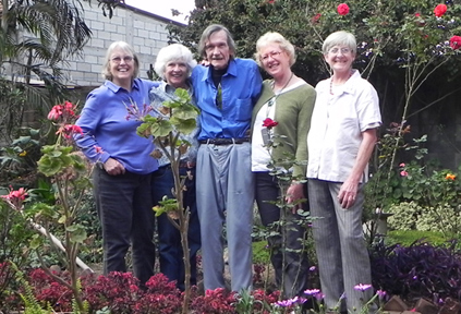 Martha Dugan, Margaret Bean, Loren Lacelle (passed away October 2012), Saskia Schuitemaker and Pepper Goodrich