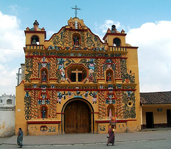 Church at  San Andrés Xecul