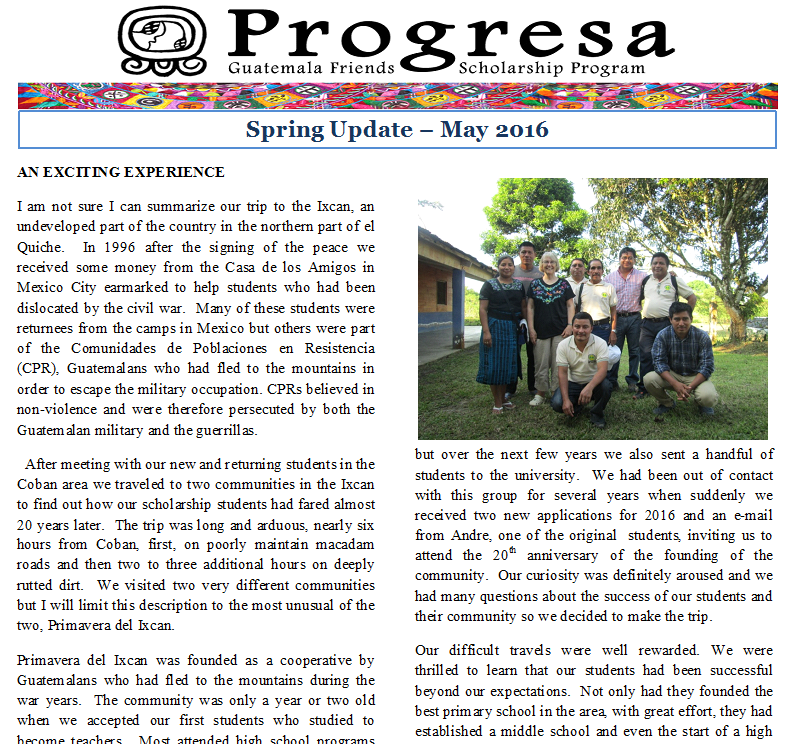 2016 spring update