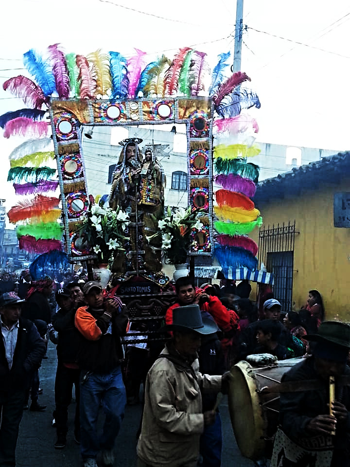 Procession in Chichi