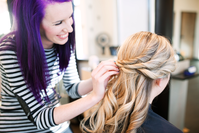 hair by lauren - northern colorado wedding hair and bridal