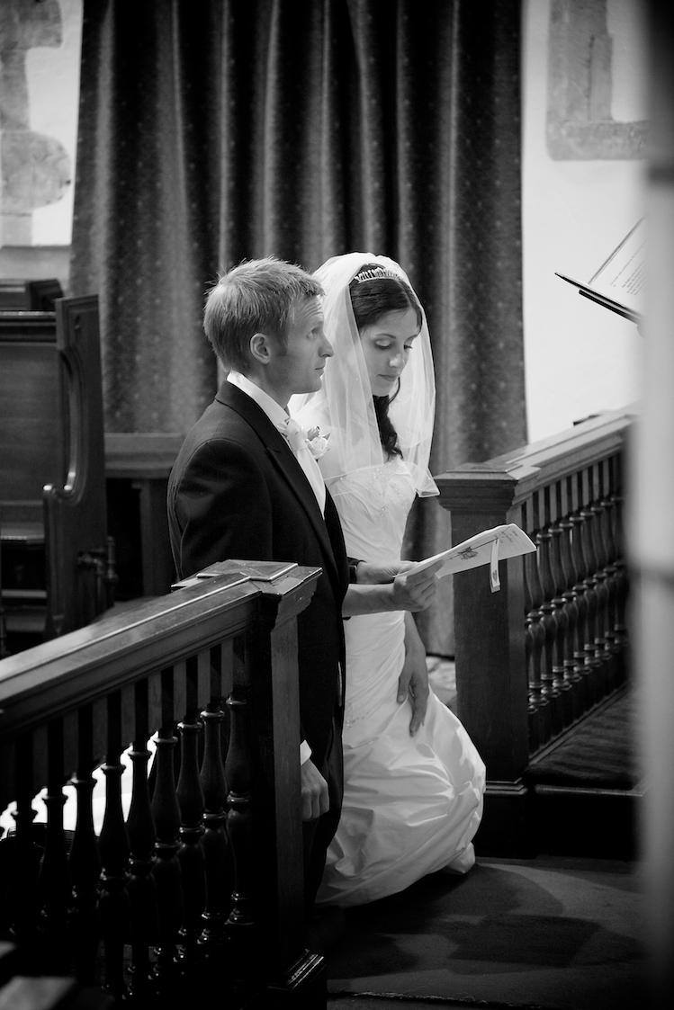 St Georges Church Wedding, West Grinstead