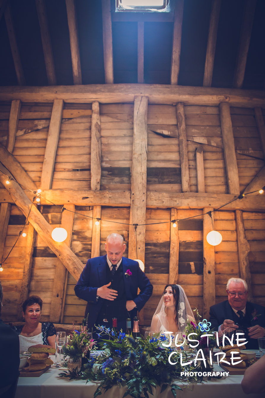 Chiddinglye Patricks Barn venue The Garden Chef Wedding Photographers Justine Claire1-16.jpg