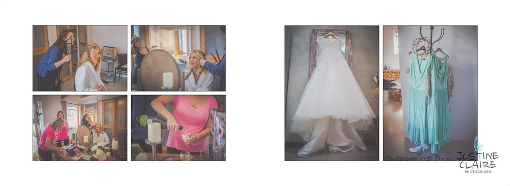Southend Barns Wedding Album - I just love the atmosphere at the Bridal Preparations