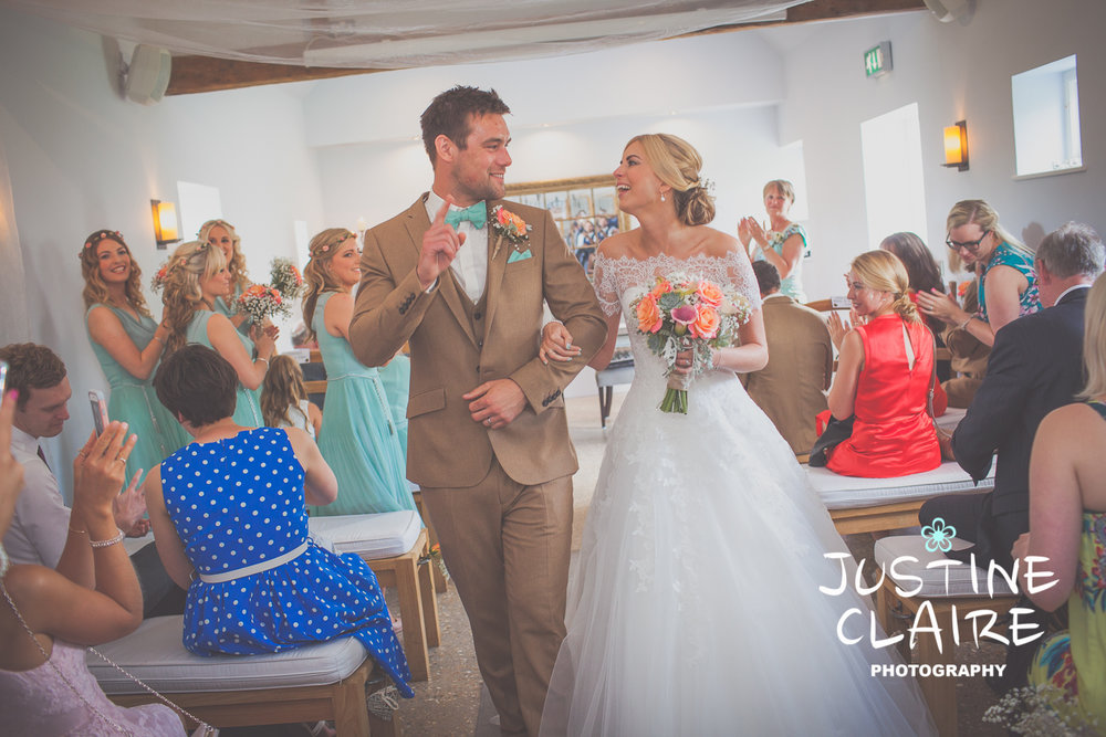 A beautiful wedding at Southend Barn Donnington Chichester - photographed by Justine Claire Photography