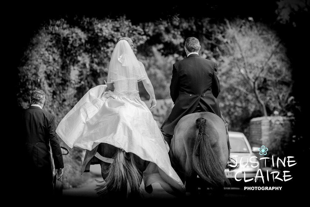 Chichester Slindon eastergate Wedding Photographers bride on a horse Photography4.jpg