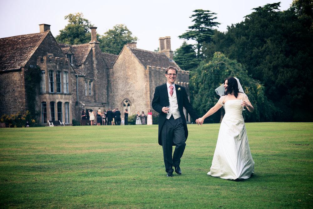 Amy Alex Chavenage House Wedding