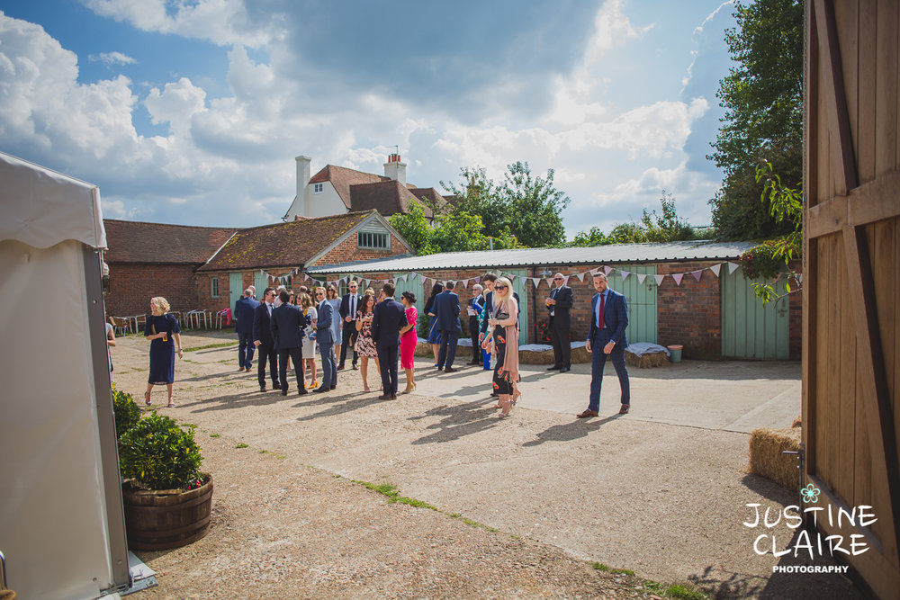 Photographers in Sussex Court Garden Farm Vineyard Barn Wedding Ditchling-15.jpg