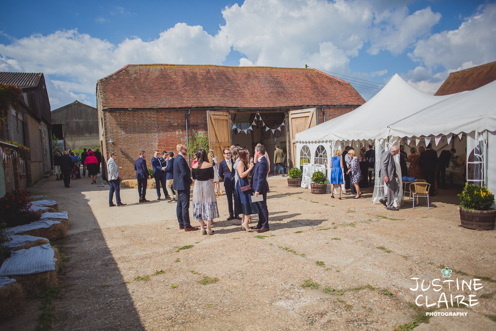 Photographers in Sussex Court Garden Farm Vineyard Barn Wedding Ditchling-19.jpg