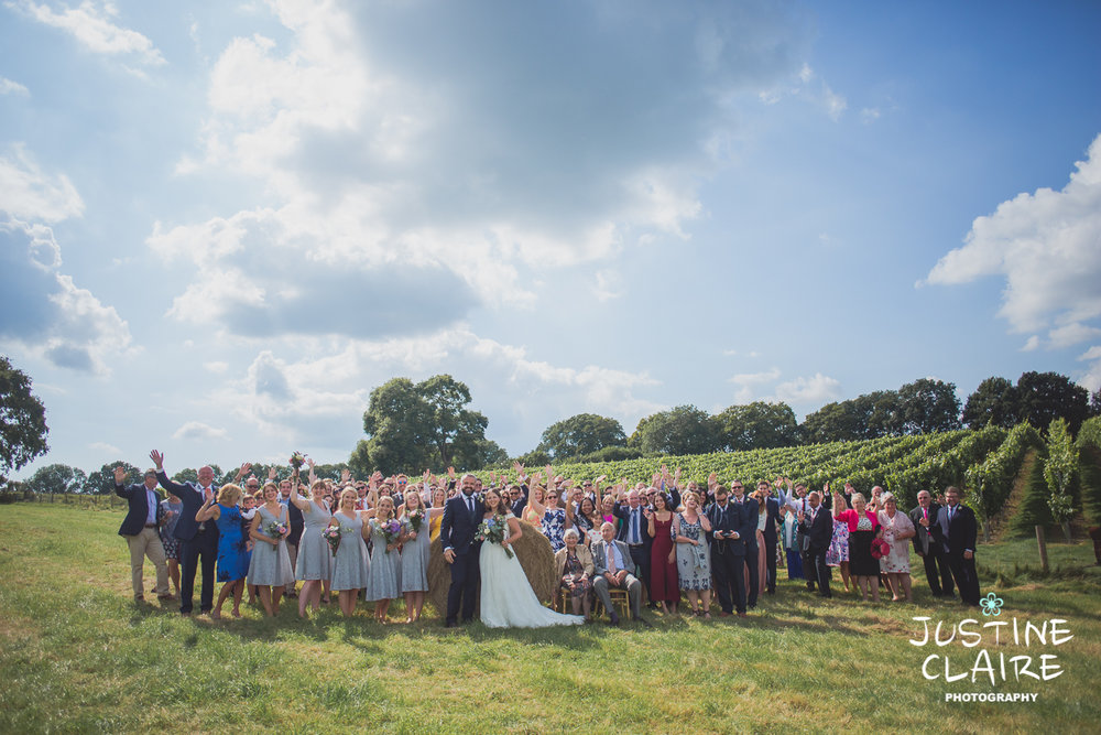 Photographers in Sussex Court Garden Farm Vineyard Barn Wedding Ditchling-74.jpg