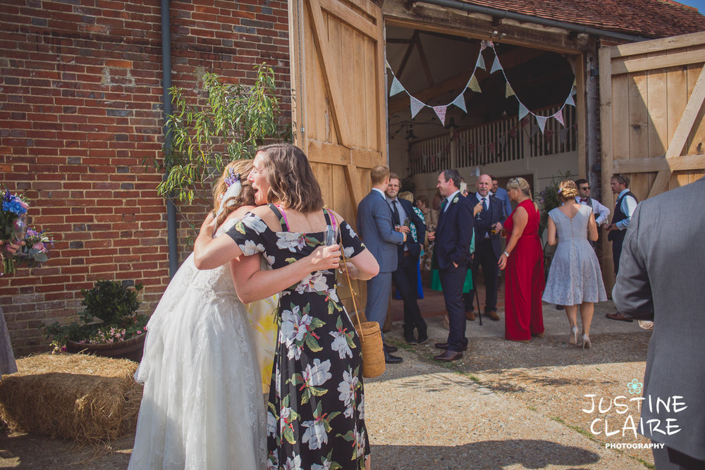 Photographers in Sussex Court Garden Farm Vineyard Barn Wedding Ditchling-84.jpg