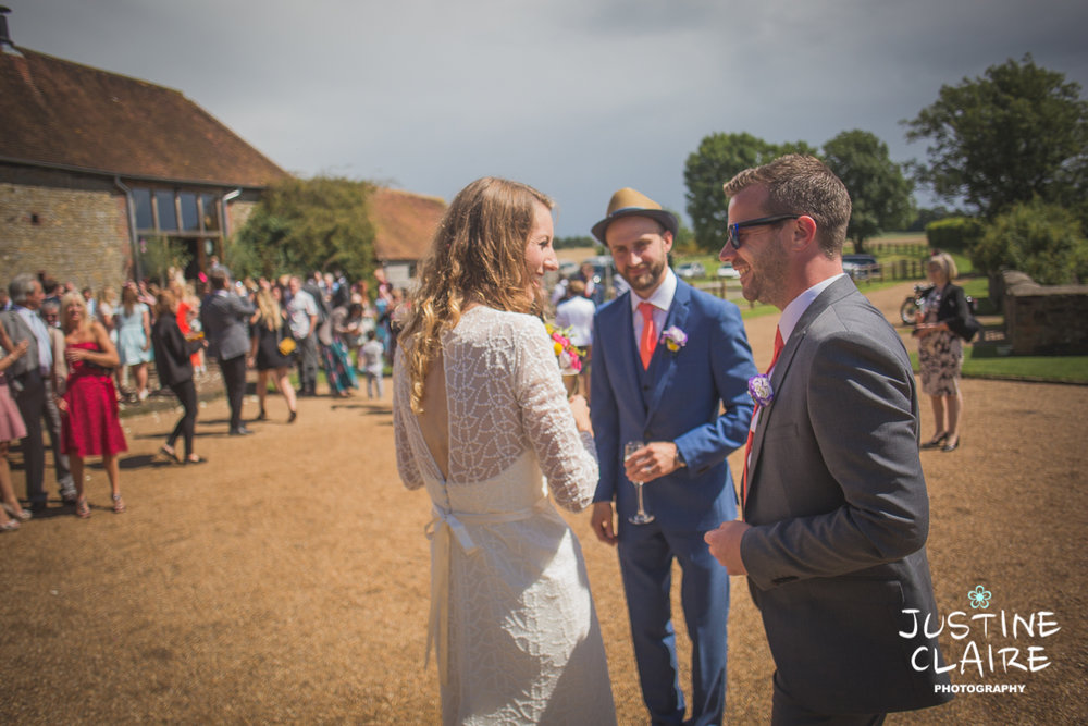 Grittenham Barn Wedding Photographers West sussex female reportage photography barn weddings-65.jpg