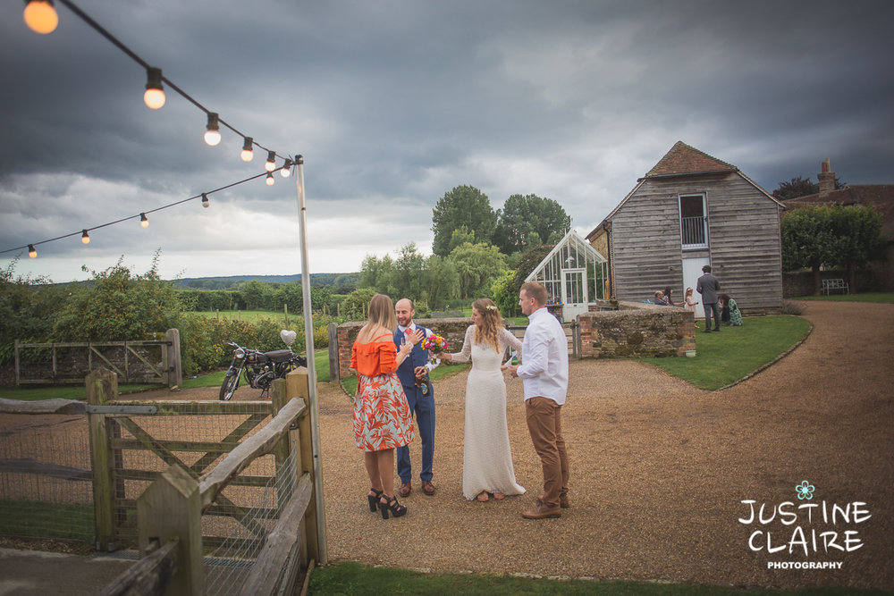 Barn wedding Kent photographer
