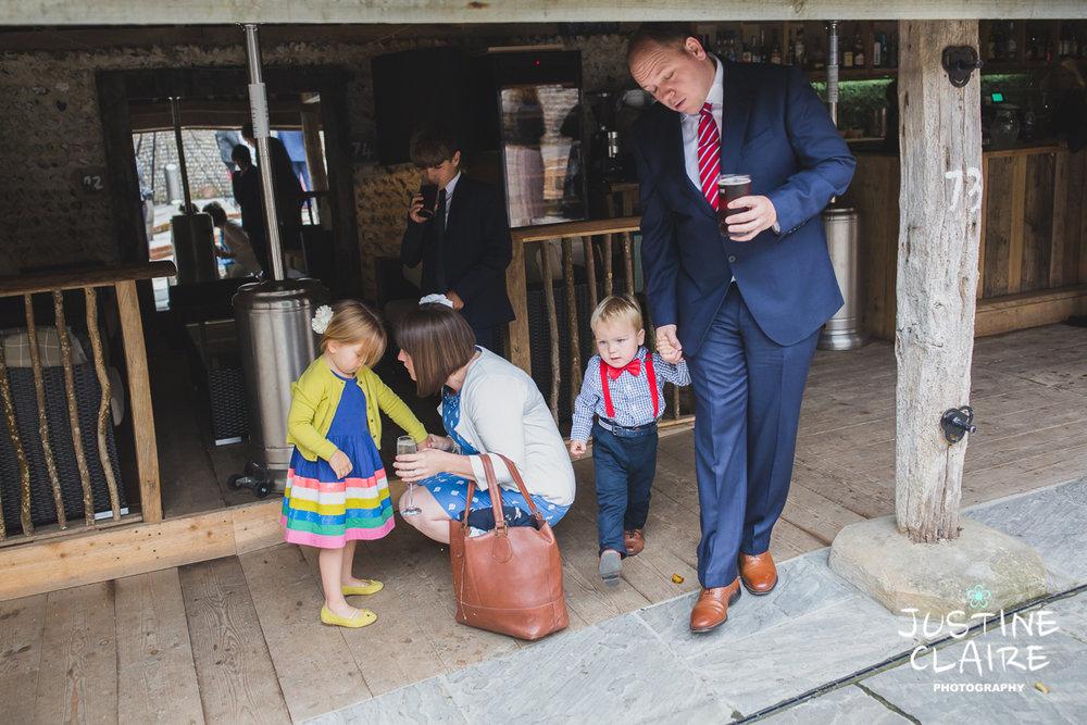 wedding photographer at Cissbury barn Findon Barn Venue Sussex reportage-4.jpg