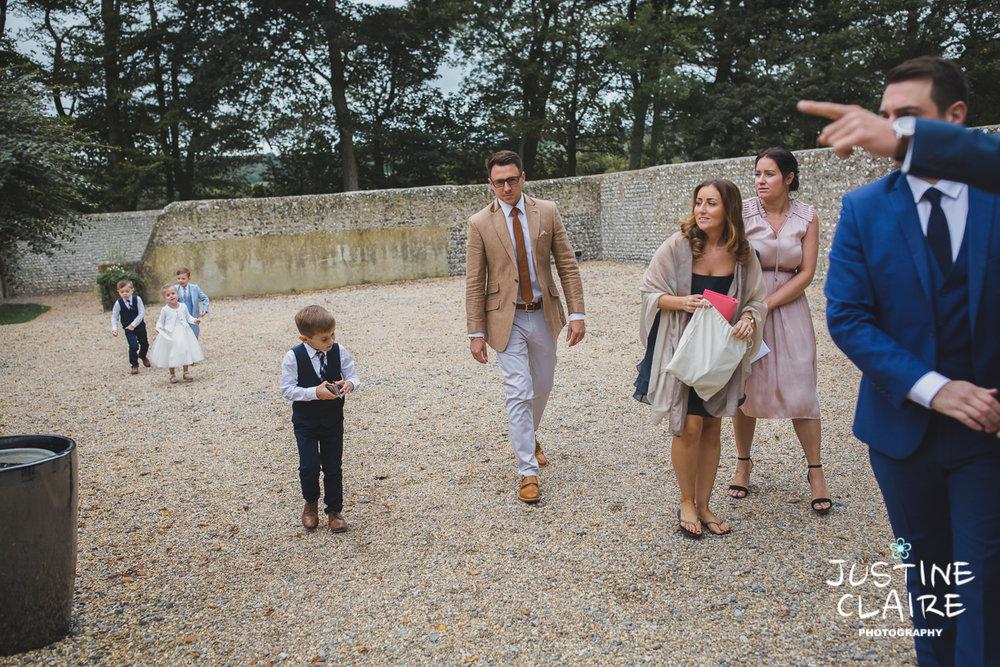 wedding photographer at Cissbury barn Findon Barn Venue Sussex reportage-6.jpg