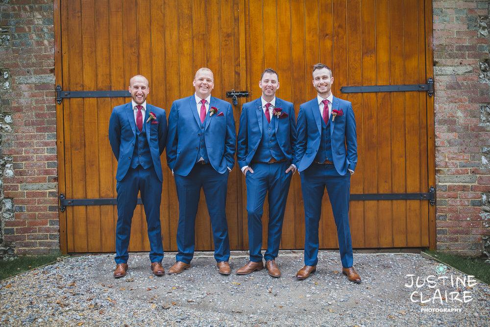 wedding photographer at Cissbury barn Findon Barn Venue Sussex reportage-8.jpg