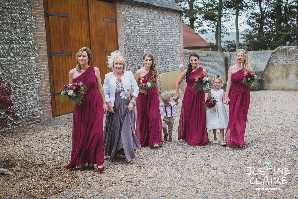 wedding photographer at Cissbury barn Findon Barn Venue Sussex reportage-17.jpg
