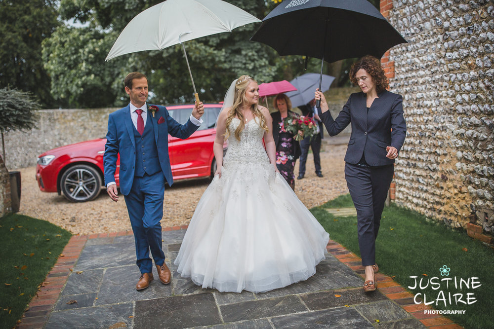 wedding photographer at Cissbury barn Findon Barn Venue Sussex reportage-20.jpg