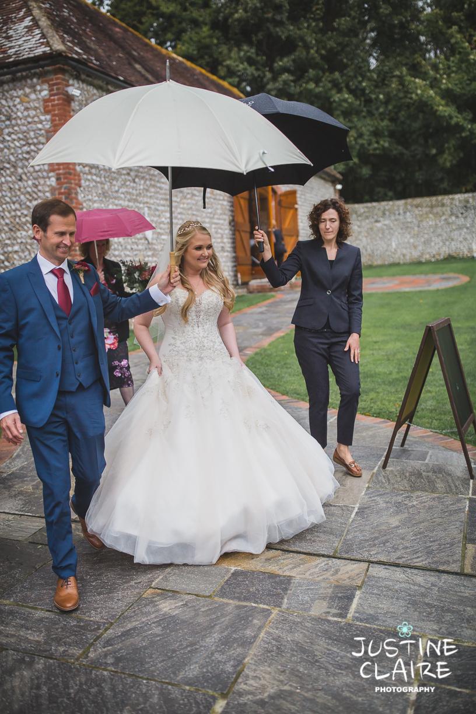 wedding photographer at Cissbury barn Findon Barn Venue Sussex reportage-21.jpg