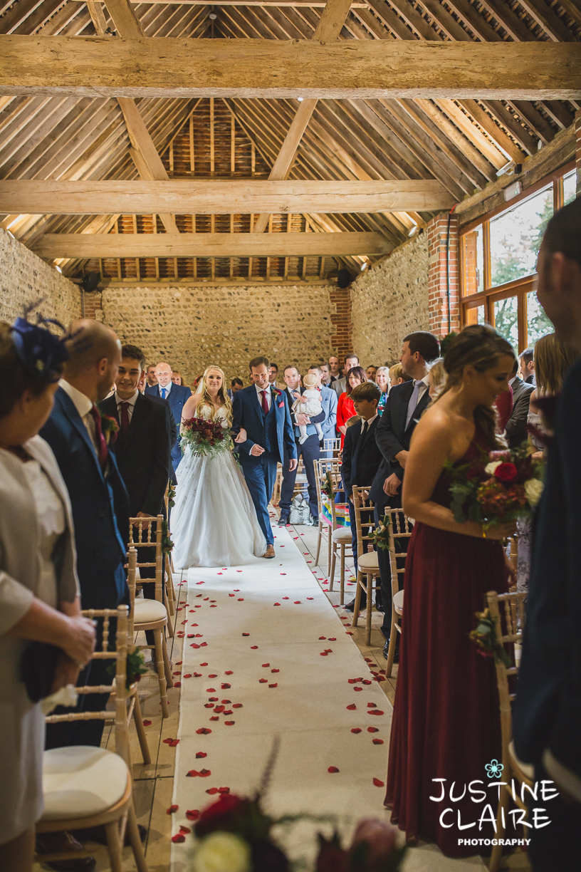 wedding photographer at Cissbury barn Findon Barn Venue Sussex reportage-25.jpg