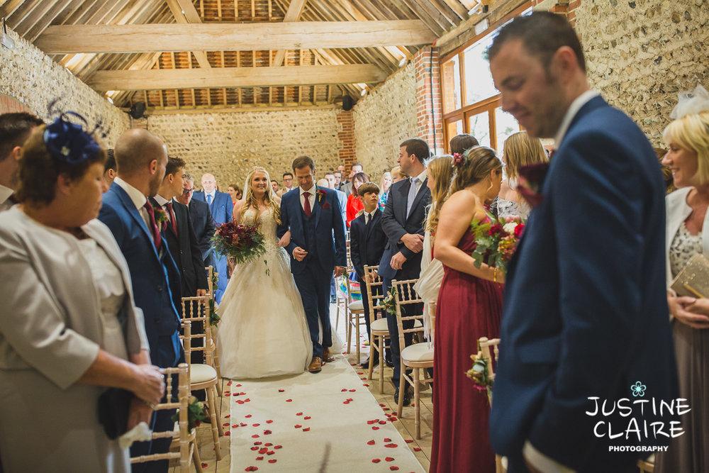 wedding photographer at Cissbury barn Findon Barn Venue Sussex reportage-26.jpg