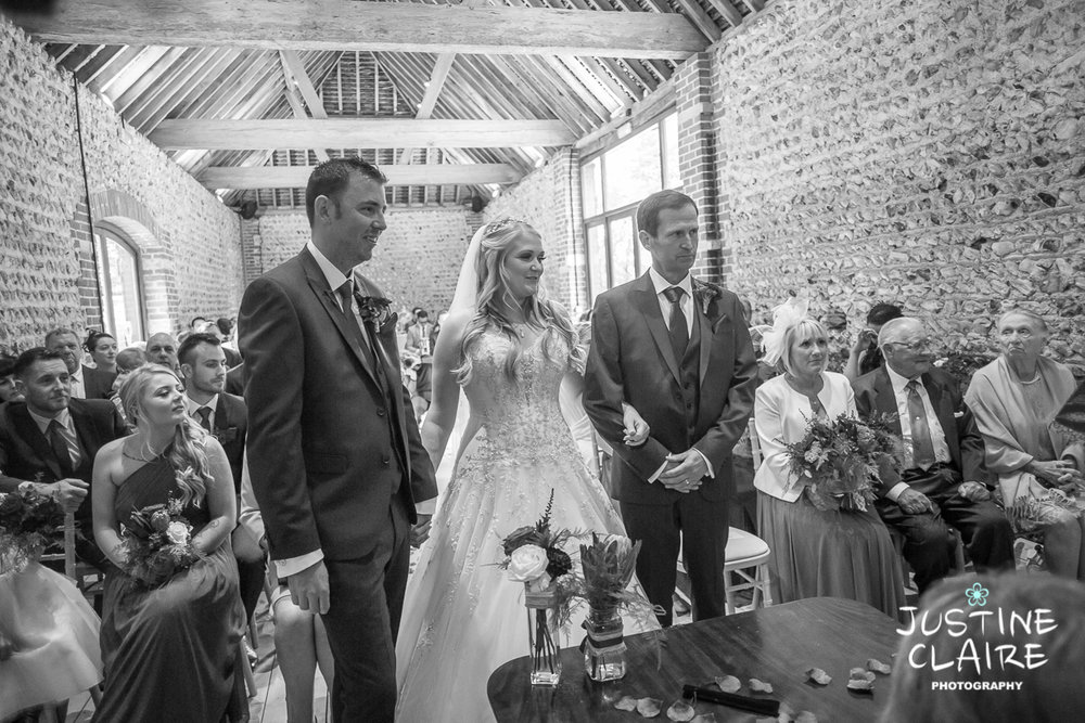 wedding photographer at Cissbury barn Findon Barn Venue Sussex reportage-28.jpg