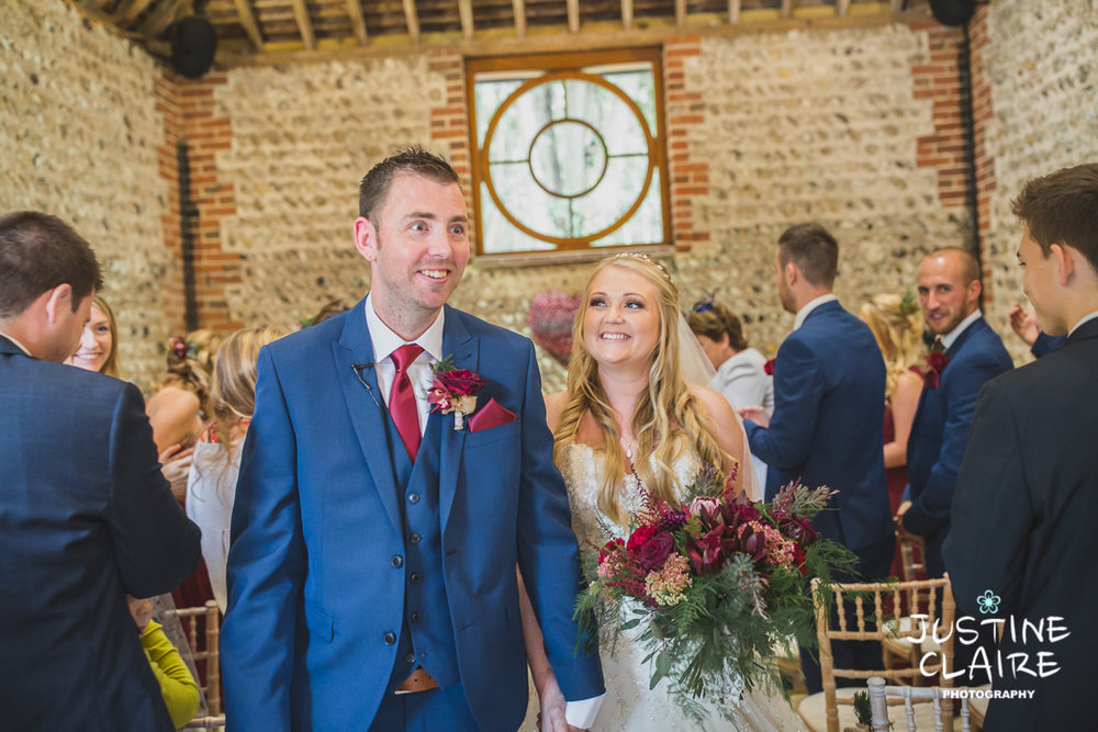 wedding photographer at Cissbury barn Findon Barn Venue Sussex reportage-30.jpg