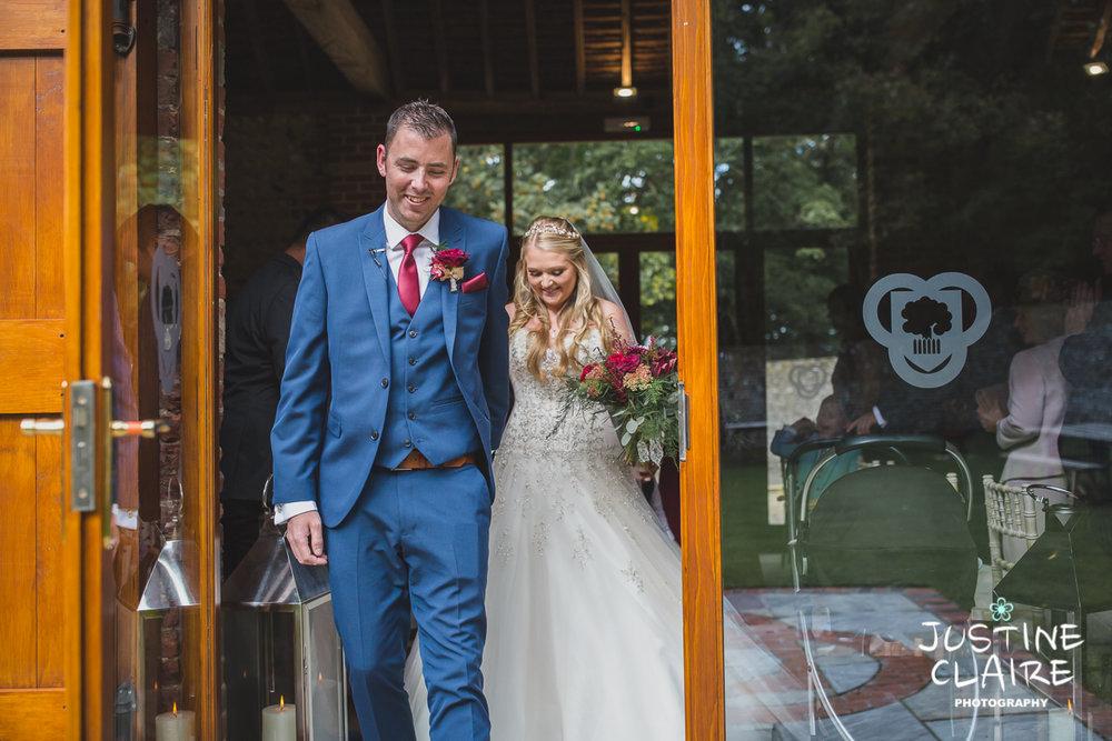 wedding photographer at Cissbury barn Findon Barn Venue Sussex reportage-31.jpg