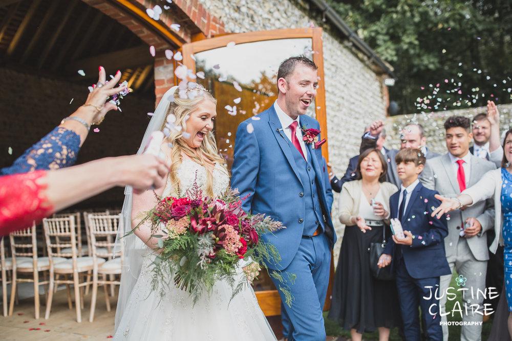 wedding photographer at Cissbury barn Findon Barn Venue Sussex reportage-37.jpg