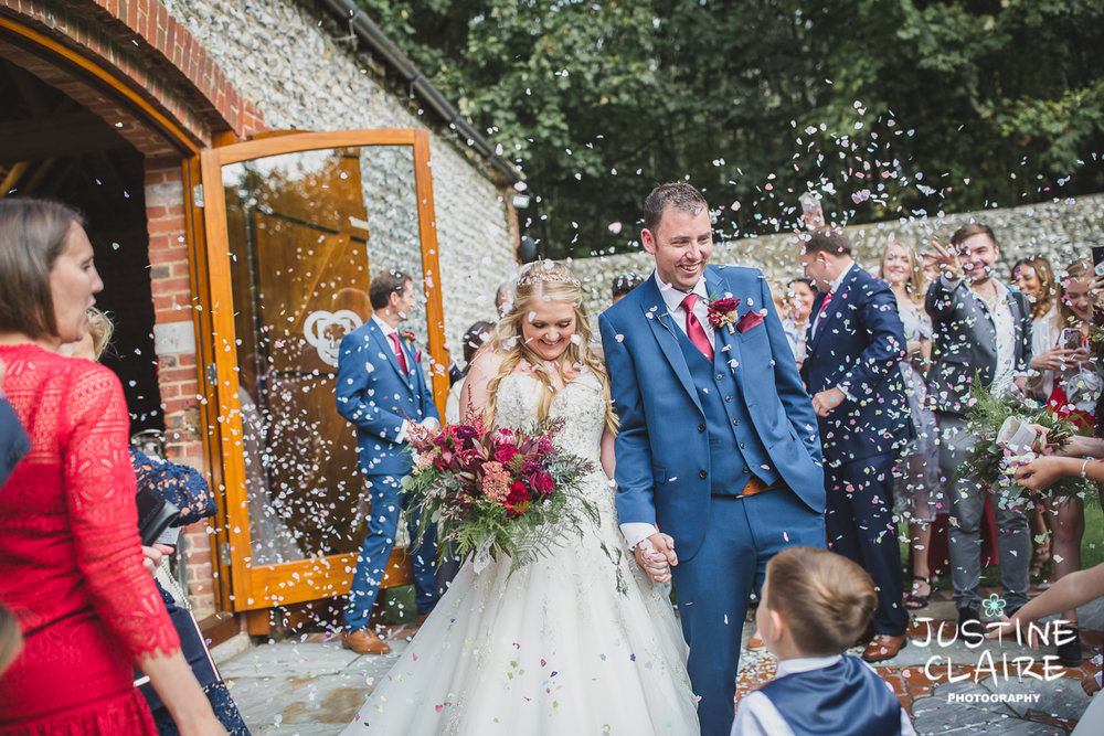 wedding photographer at Cissbury barn Findon Barn Venue Sussex reportage-39.jpg