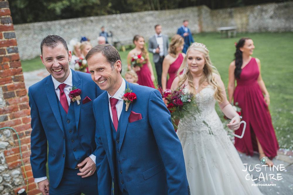 wedding photographer at Cissbury barn Findon Barn Venue Sussex reportage-50.jpg