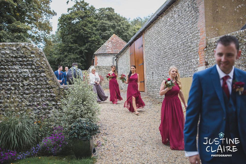 wedding photographer at Cissbury barn Findon Barn Venue Sussex reportage-51.jpg