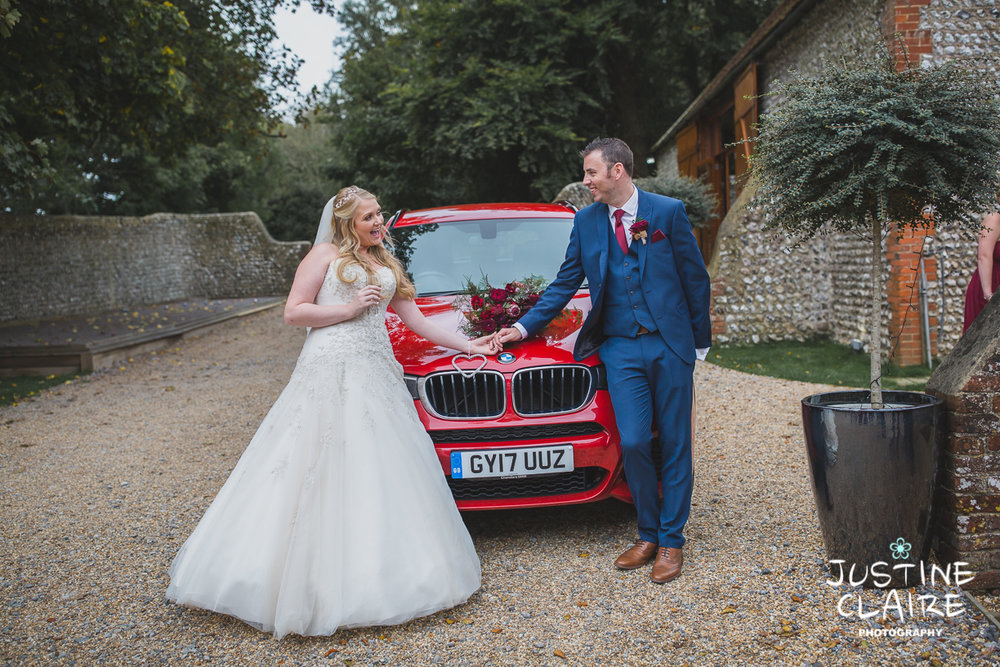 wedding photographer at Cissbury barn Findon Barn Venue Sussex reportage-59.jpg