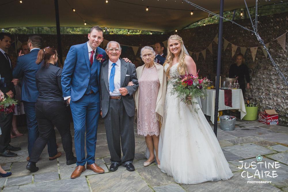 wedding photographer at Cissbury barn Findon Barn Venue Sussex reportage-63.jpg