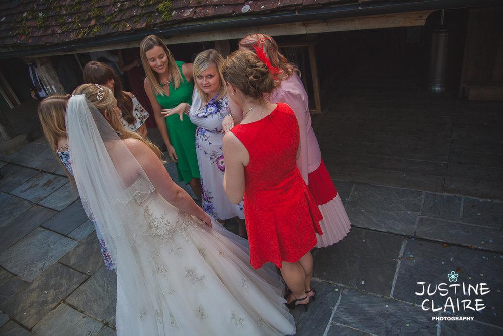 wedding photographer at Cissbury barn Findon Barn Venue Sussex reportage-82.jpg
