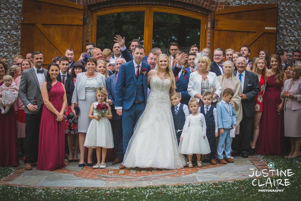 wedding photographer at Cissbury barn Findon Barn Venue Sussex reportage-91.jpg
