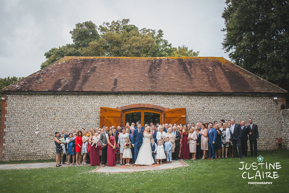 wedding photographer at Cissbury barn Findon Barn Venue Sussex reportage-92.jpg
