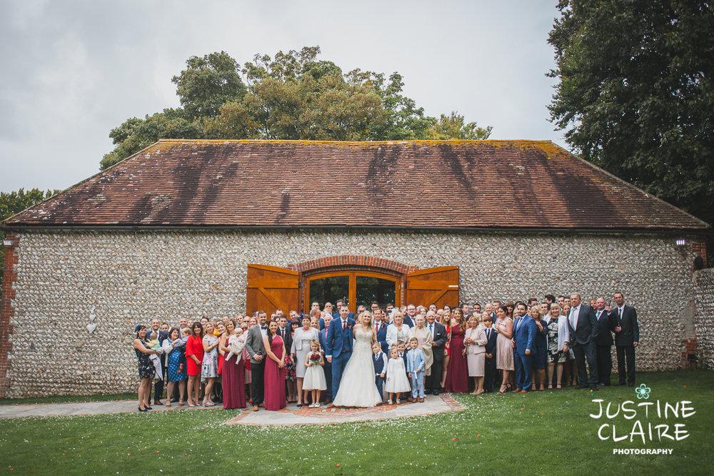 wedding photographer at Cissbury barn Findon Barn Venue Sussex reportage-92.jpg
