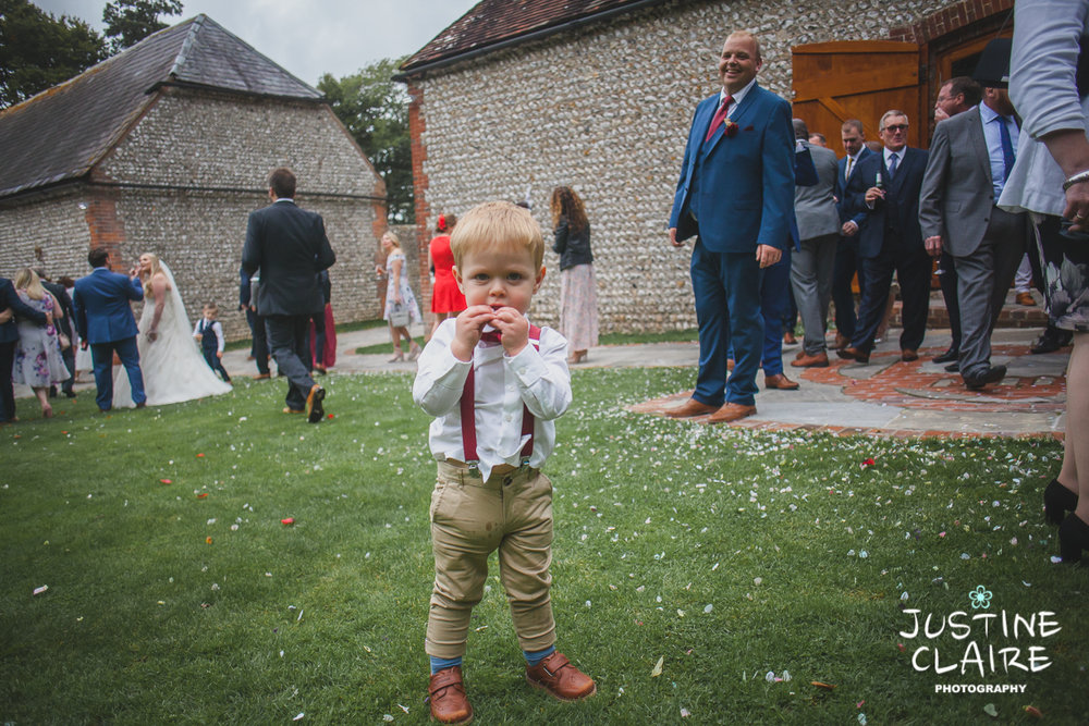 wedding photographer at Cissbury barn Findon Barn Venue Sussex reportage-96.jpg