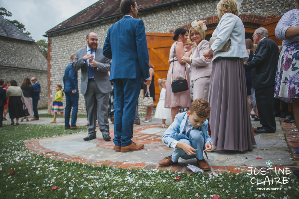 wedding photographer at Cissbury barn Findon Barn Venue Sussex reportage-97.jpg