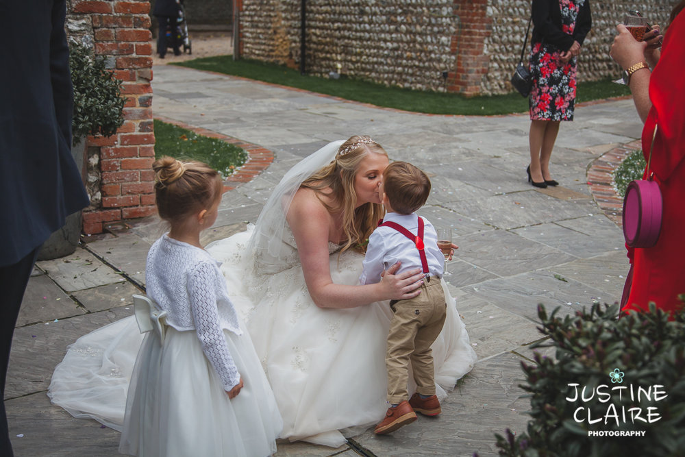 wedding photographer at Cissbury barn Findon Barn Venue Sussex reportage-98.jpg