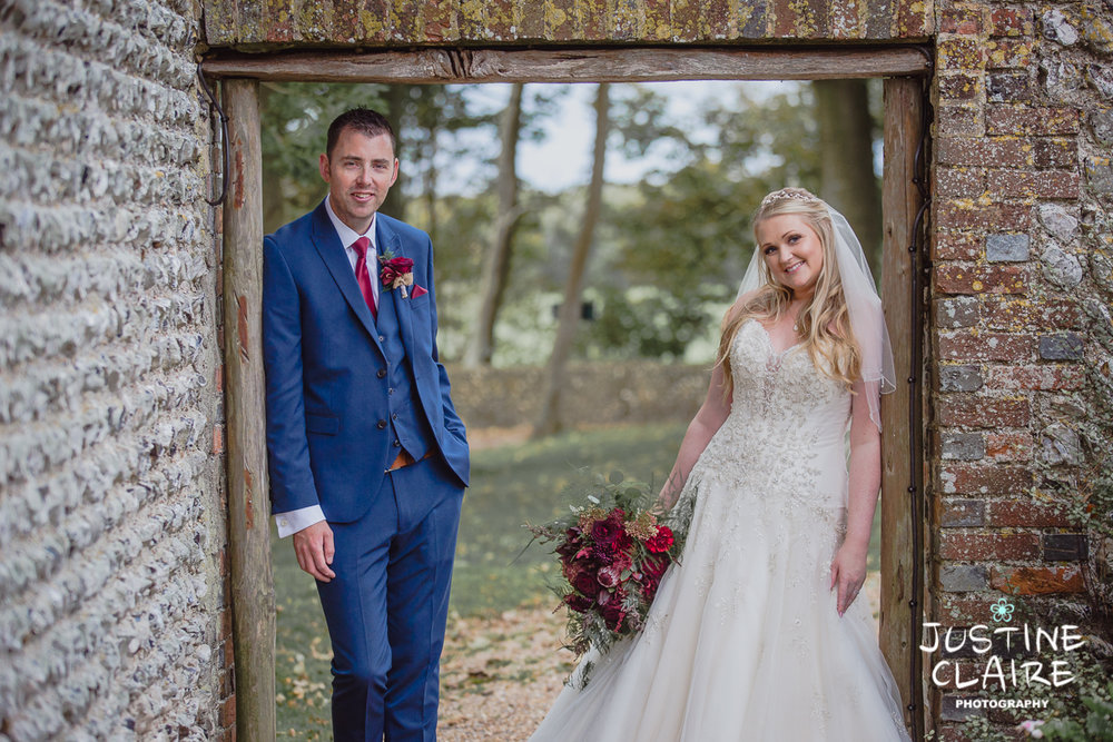 wedding photographer at Cissbury barn Findon Barn Venue Sussex reportage-113.jpg
