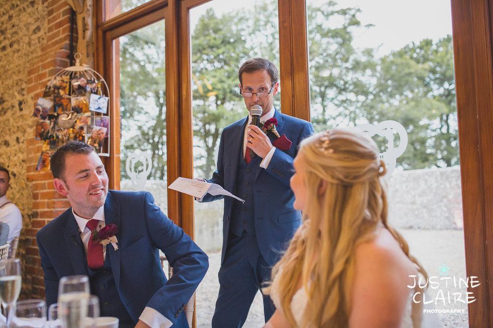 wedding photographer at Cissbury barn Findon Barn Venue Sussex reportage-118.jpg